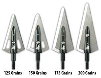 Samurai Broadheads - Left Bevel - Found Stock 3-Pack