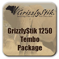 GrizzlyStik Black 1250<br />Tembo Package
