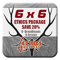 6x6 Momentum TDT® Ethics Insert<br /> 6 Arrow Package