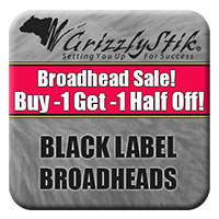 Black Label Broadhead Sale<br>Buy 1, Get 1 Half Off