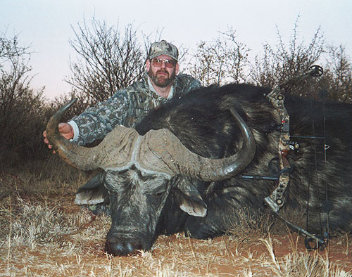 Cape buffalo taken with grixxlystik gear.