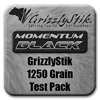 GrizzlyStik Black 1250<br>Tembo Test Pack