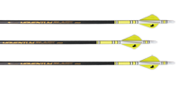 GrizzlyStik Momentum Black 175 Arrows<br> 6-Pack