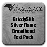 Silver Flame® Broadhead Test Pack