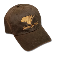GrizzlyStik Logo Cap - Waxed Canvas Brown