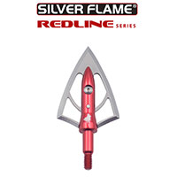 Silver Flame® REDLINE™ 100 Broadheads<br> 3-Pack