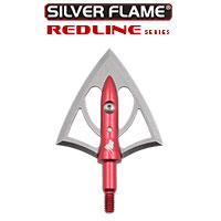 Silver Flame® REDLINE™ 125 XL Broadheads <br> 3-Pack