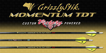 Momentum TDT® 320 Fletched Arrows 6-Pack